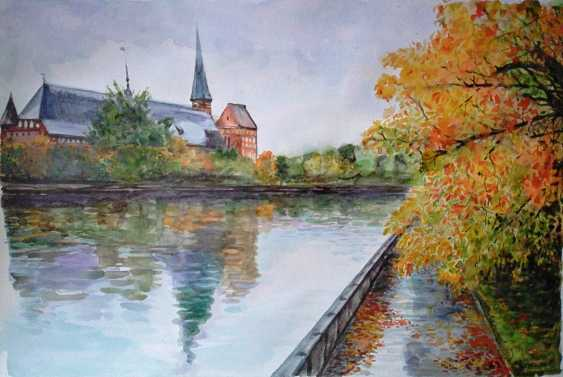Tatyana Chuprina. Kaliningrad.Watercolor.Paper.59х42 see - photo 1