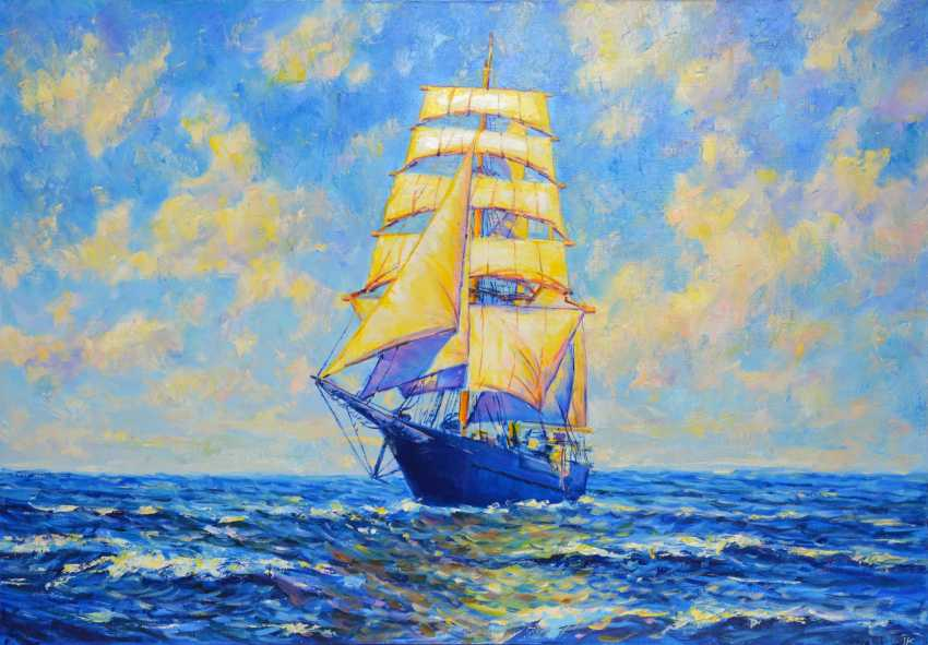 Iryna Kastsova. Ship / Ship - photo 1