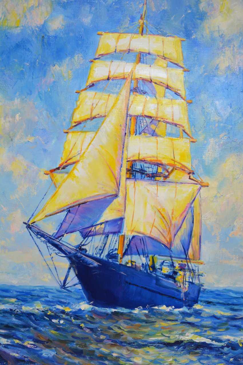 Iryna Kastsova. Ship / Ship - photo 3