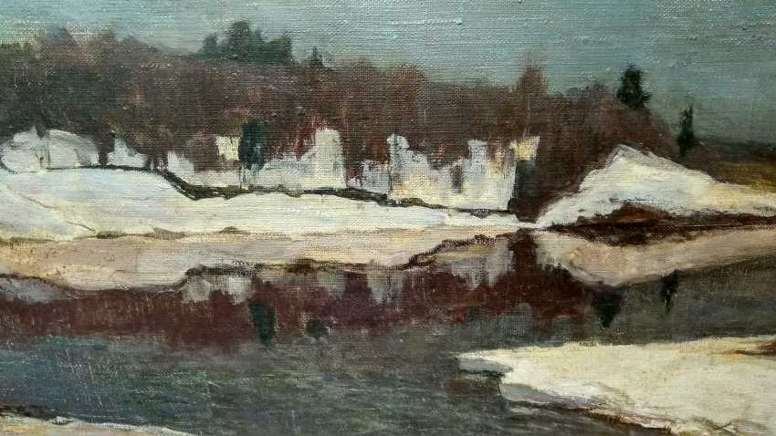 "Maxim Bulaev. ""Early spring"". - photo 3"