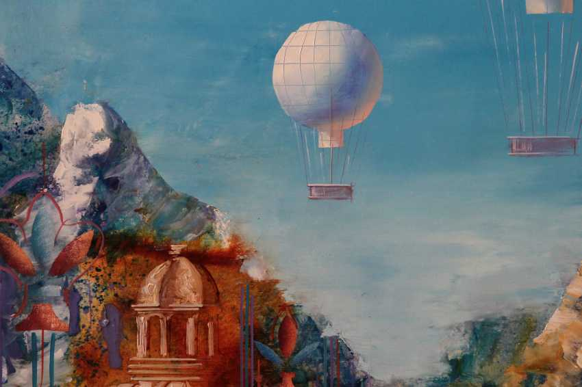 alexandr Dobrodiy. Motif with balloons - photo 3