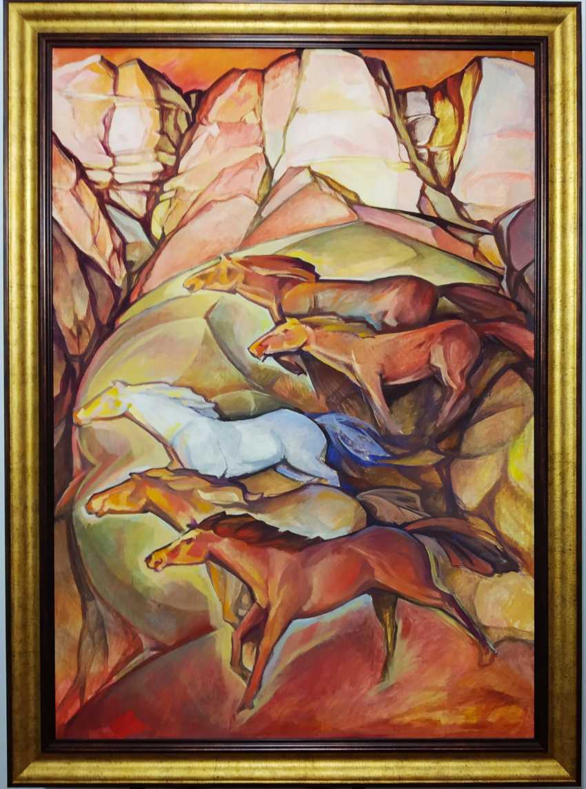 "Sergei Zorov. ""Mountain wind"" - Foto 1"
