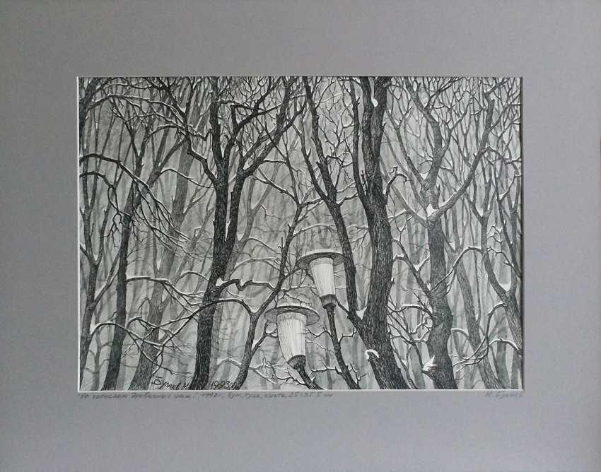 """Maxim Bulaev. """"Bush, woody thickets..."""". - photo 1"""