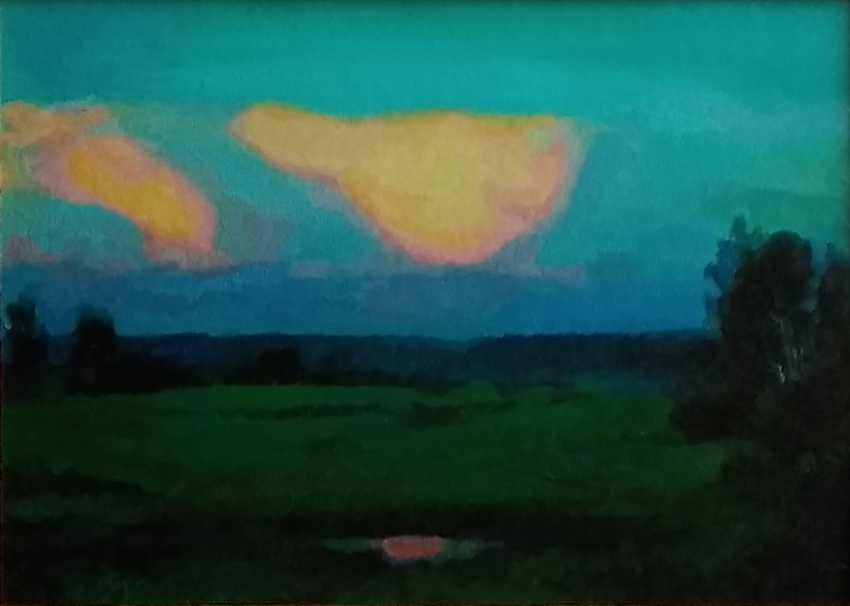"Maxim Bulaev. ""Western Siberia. White nights"". - photo 1"