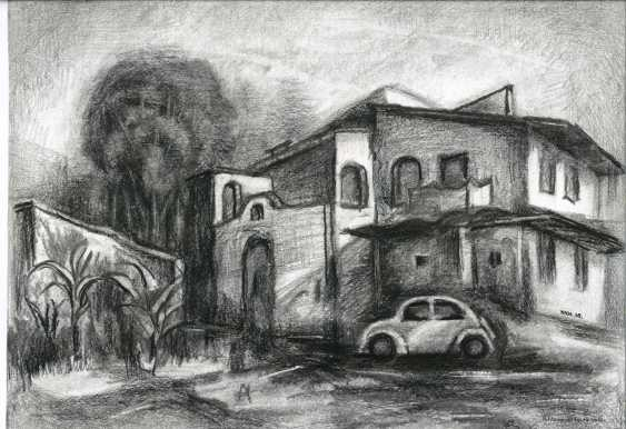 Yuri Kalashnikov. House by the river - photo 1