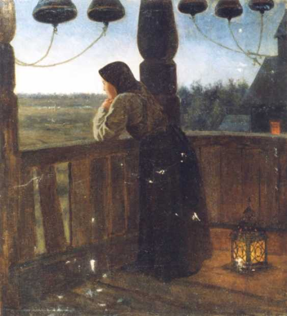 """KLODT, MIKHAIL PETROVICH, """"THE GIRL IN THE BELFRY"""" - photo 1"""