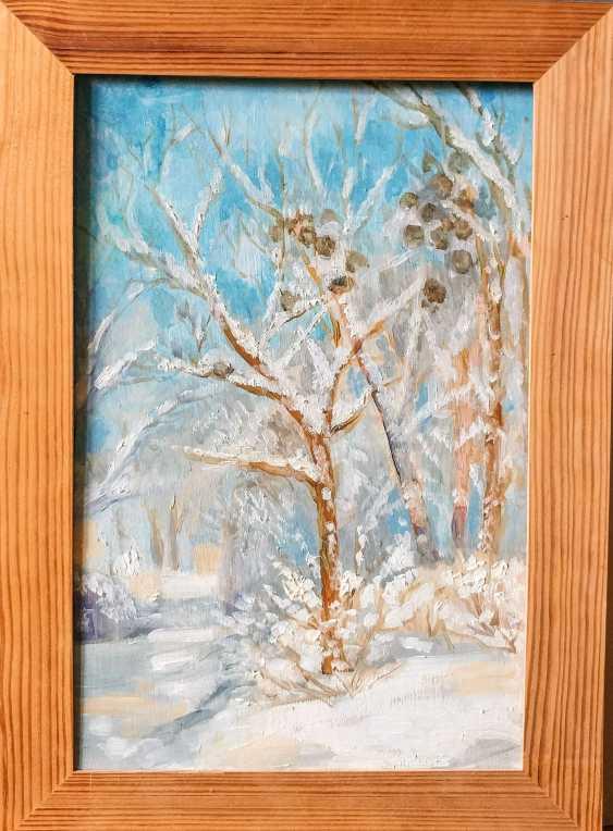 Irina Vygovskaya. Snowy winter - photo 1
