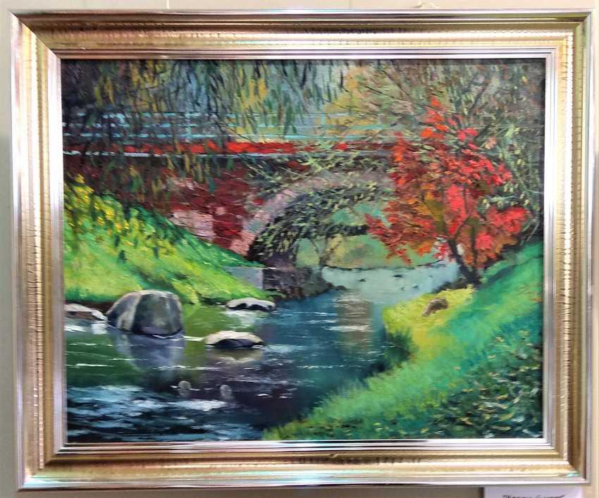 "vladimir fedorov. The ""red bridge"" - photo 1"