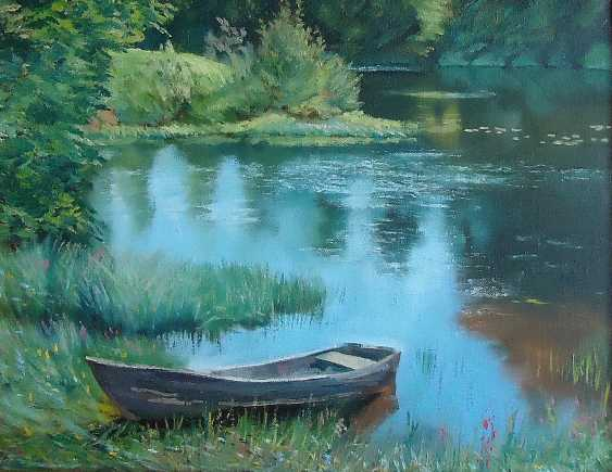 "vladimir fedorov. ""In the backwater"" - photo 1"