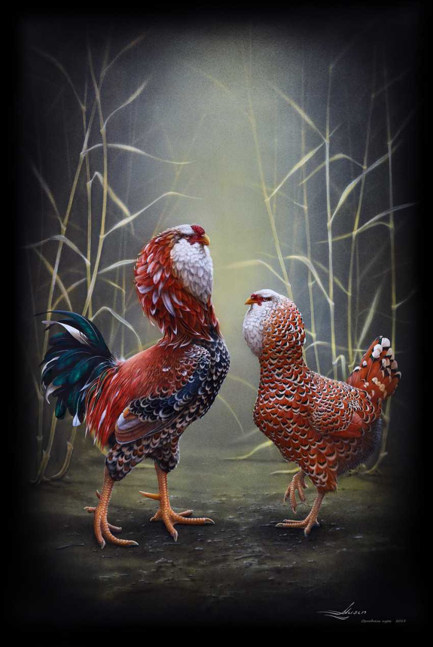 Aleksander Musin. Oryol chickens - photo 1