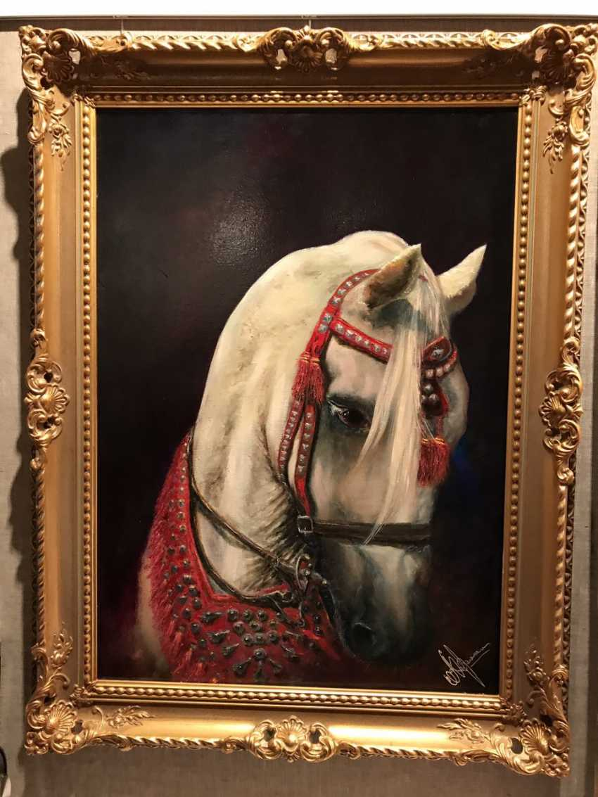 Marina Andreichenko. Arabian horse - photo 1