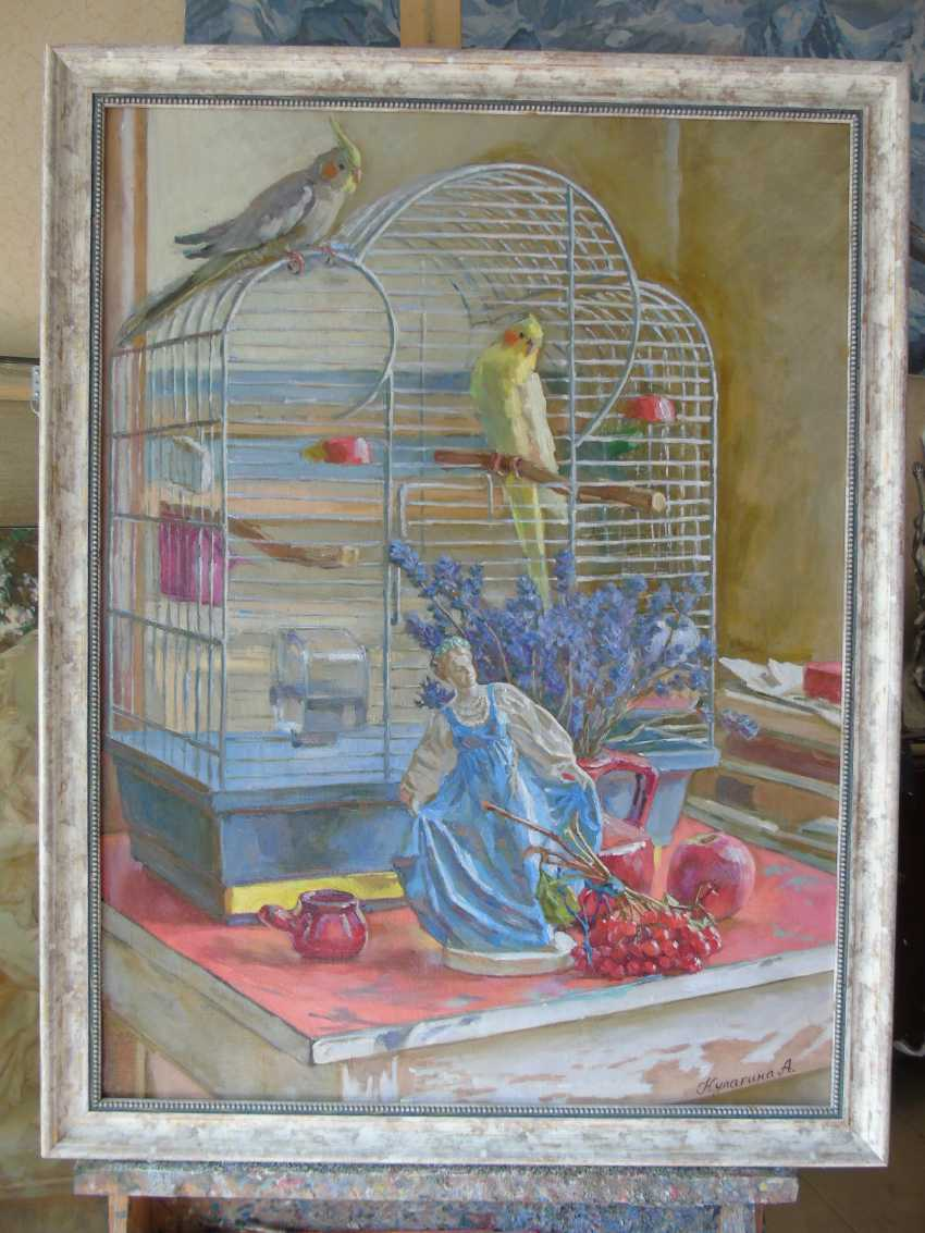 Anna Kulagina. Still life with birds - photo 1