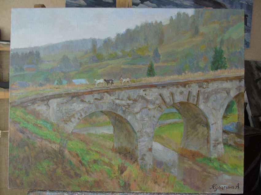 Anna Kulagina. Viadukt in Worochta - Foto 1