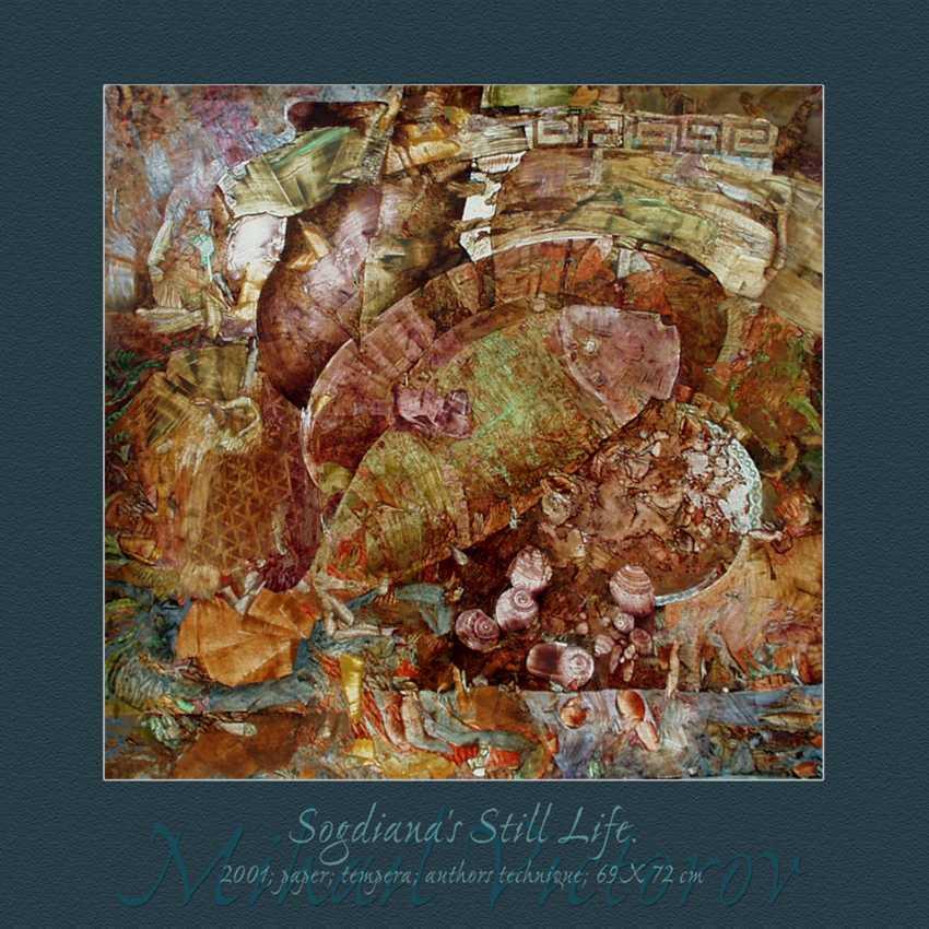 Mihail Victorov. SOGDIANA''S STILL LIFE. SOGDIAN ART. - photo 1