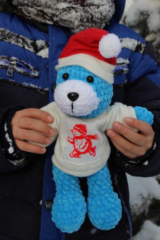 Tanya Derksch. Christmas bear - photo 1