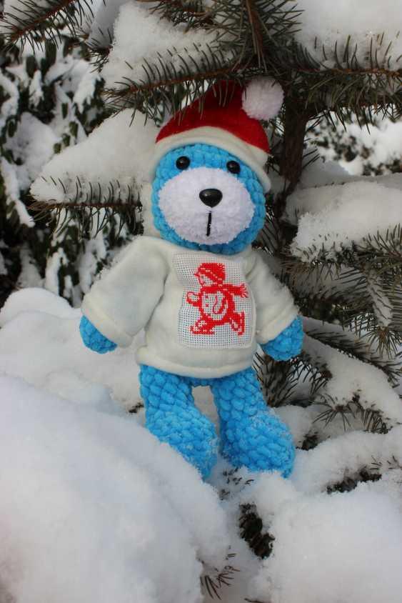 Tanya Derksch. Christmas bear - photo 2