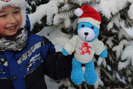 Tanya Derksch. Christmas bear - photo 4
