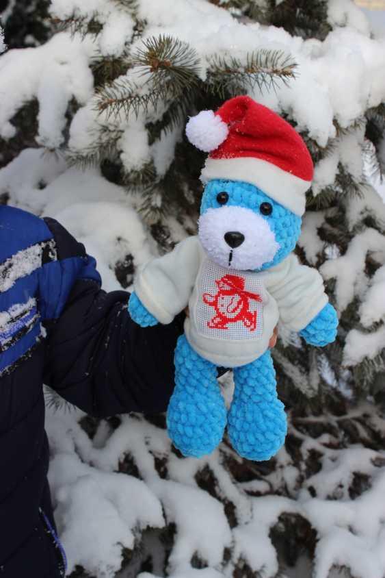 Tanya Derksch. Christmas bear - photo 6