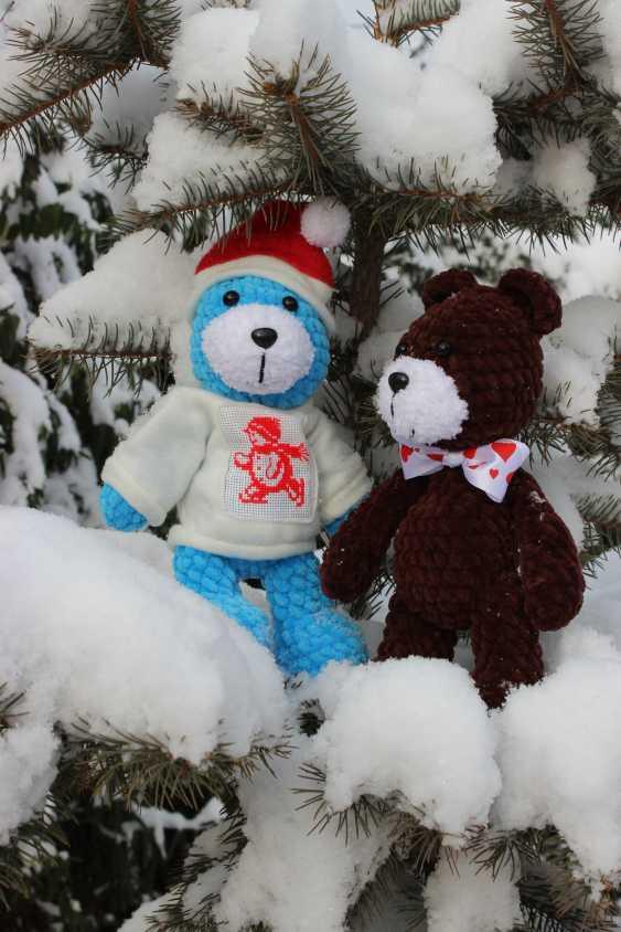 Tanya Derksch. Christmas bear - photo 7