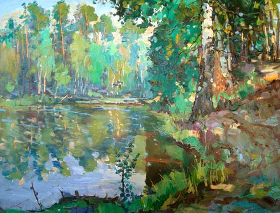 Andrey Mishagin. Forest lake - photo 1