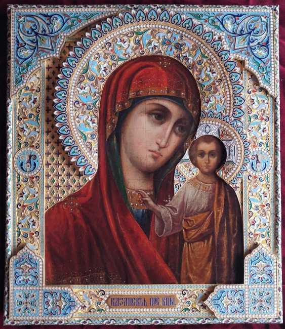 "Icon ""The Mother Of God Of Kazan"" - photo 1"