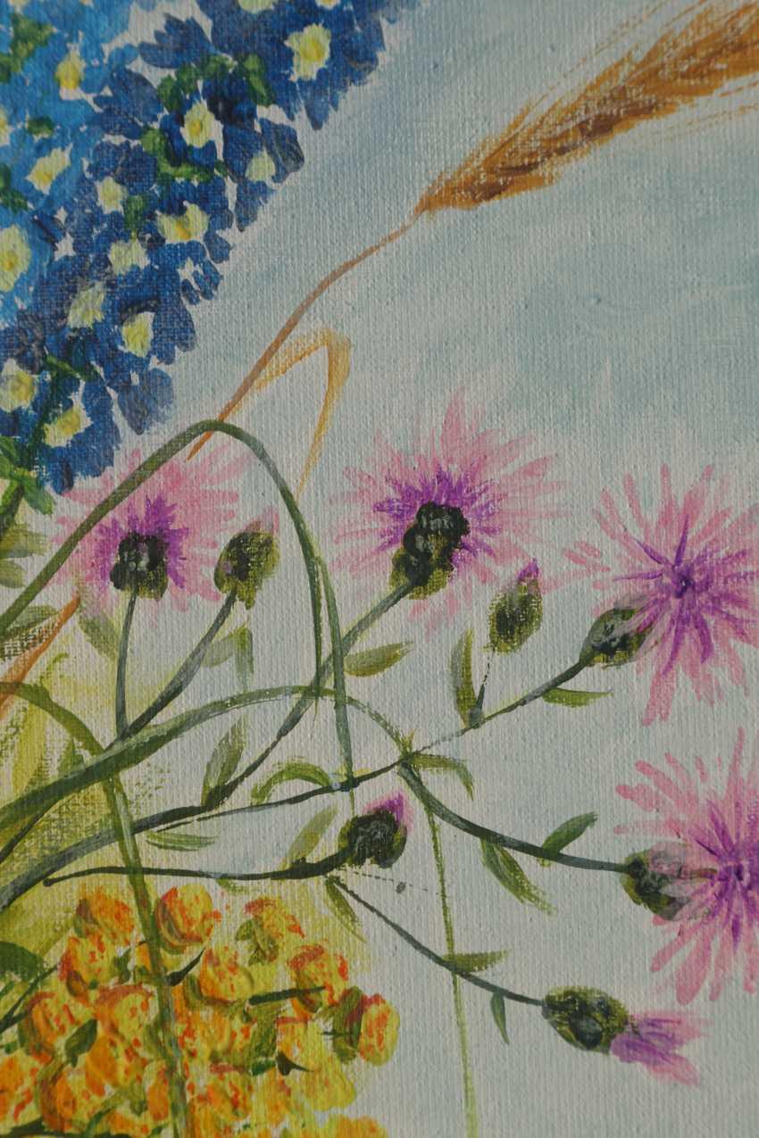 DMYTRO YEROMENKO. Bouquet of wildflowers, 50*40 - photo 3