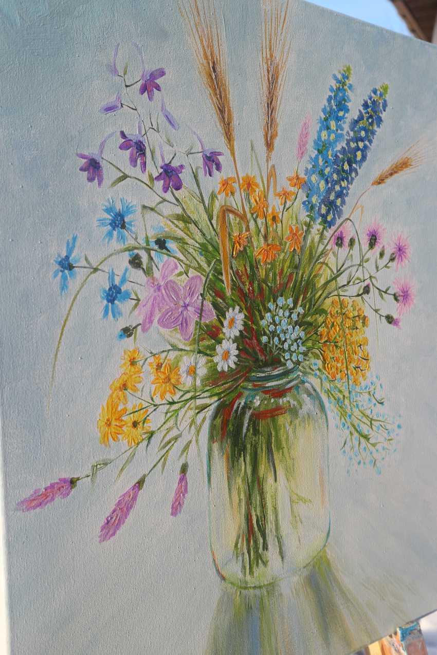 DMYTRO YEROMENKO. Bouquet of wildflowers, 50*40 - photo 5