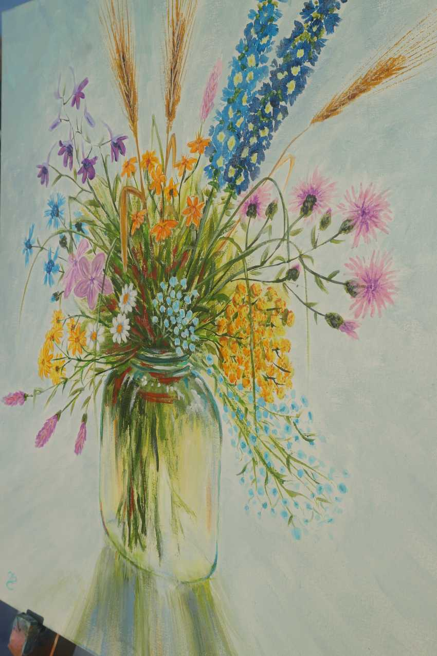 DMYTRO YEROMENKO. Bouquet of wildflowers, 50*40 - photo 6