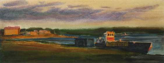 Viktor Borodin. The old barge - photo 1