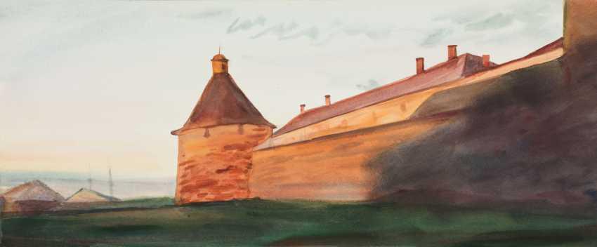 Viktor Borodin. Korozhnaya tower of the - photo 1