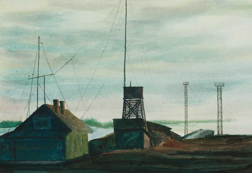 Viktor Borodin. Weather station - photo 1