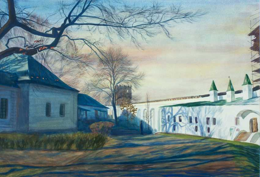Viktor Borodin. Evening - photo 1