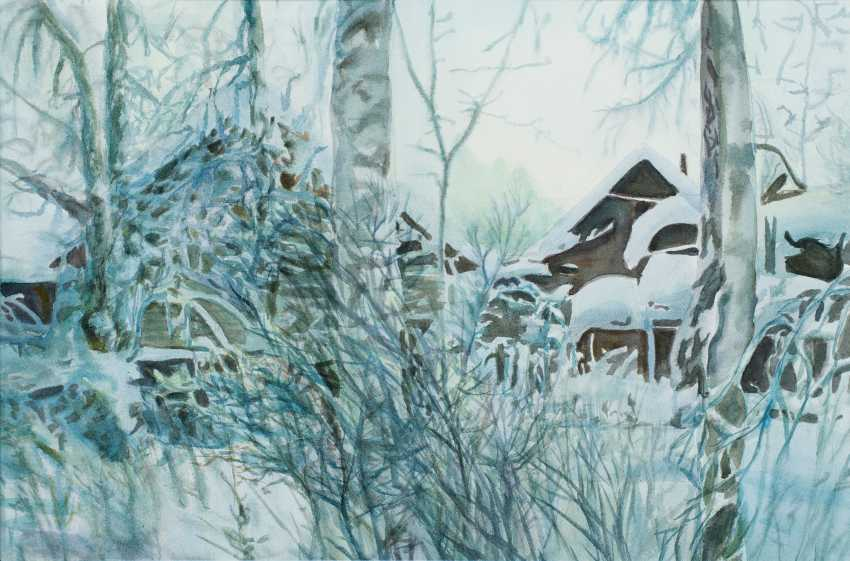 Viktor Borodin. Frosty morning - photo 1
