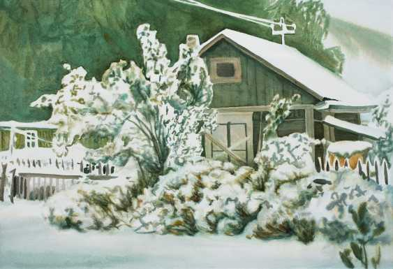 Viktor Borodin. The first snow - photo 1