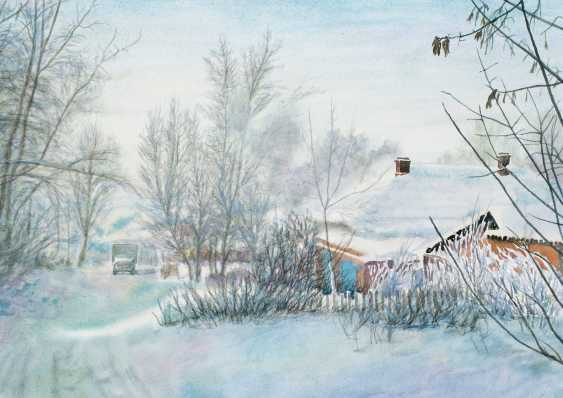 Viktor Borodin. The frozen lane - photo 1