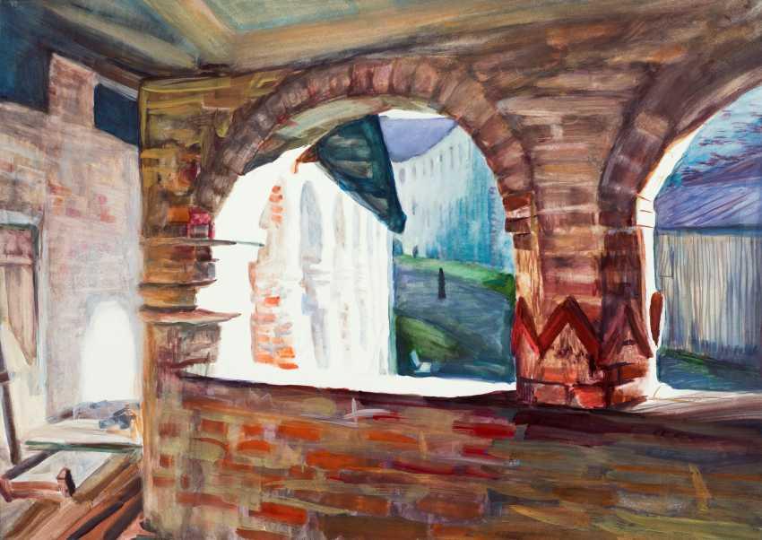 Viktor Borodin. Gallery at the mill. Morning - photo 1