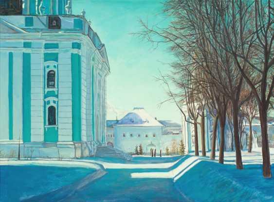 Viktor Borodin. Cold day - photo 1