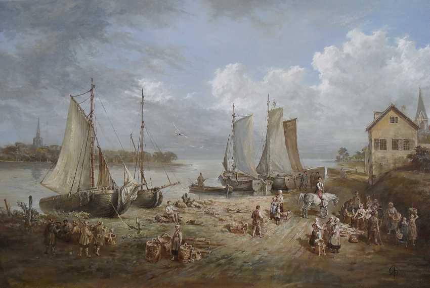 Ed Yakushin. Fishing village Kalyula. 17th century. - photo 1