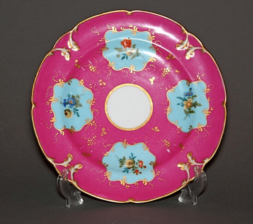 Plate. the factory of A. Popov, China - photo 1