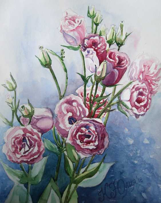 Julia Koliada. Pink roses - photo 1