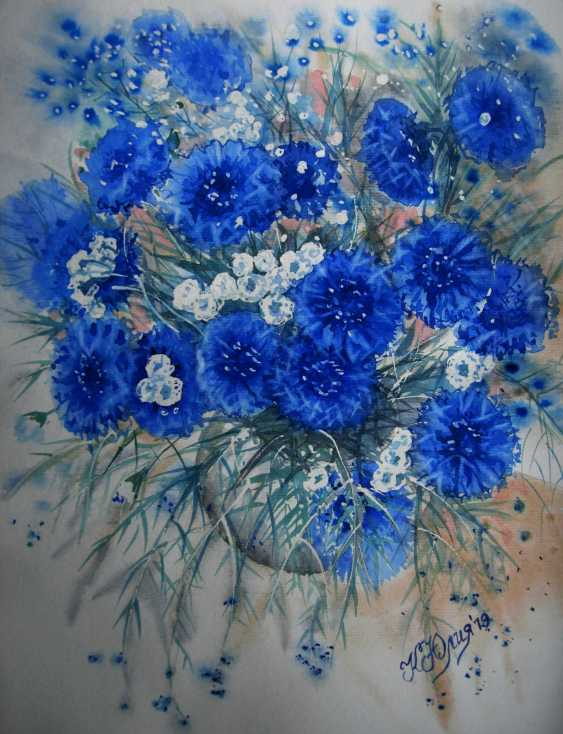 Julia Koliada. Cornflowers - photo 1