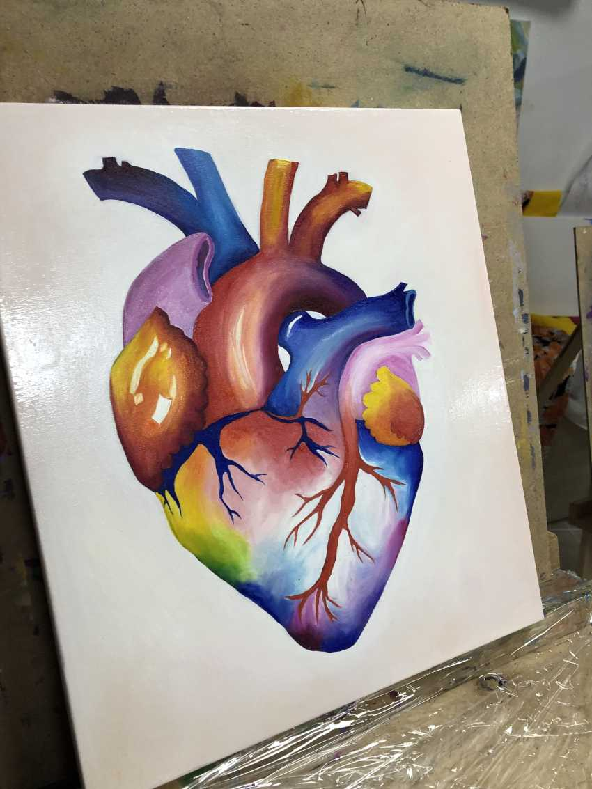 Viktoria Pecherska. rainbow heart - photo 1