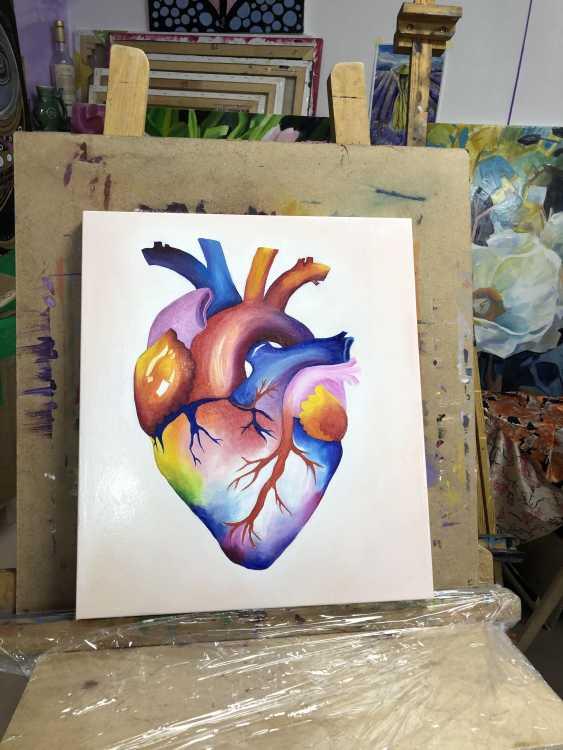 Viktoria Pecherska. rainbow heart - photo 2