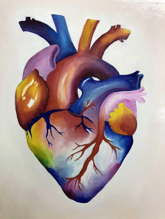 Viktoria Pecherska. rainbow heart - photo 3
