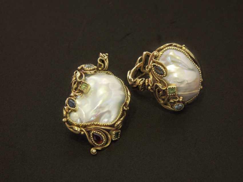 Nikolai Chizhov. Couple , ring and pendant. - photo 1