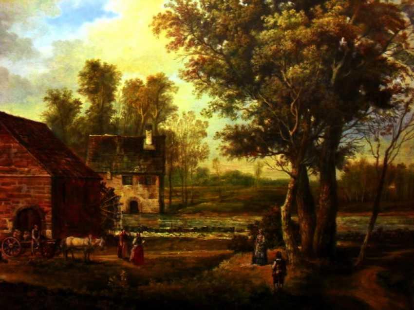 Ed Yakushin. Mill in Podesti, near Gatchina (Smith manor) built in the 17th century. - photo 1