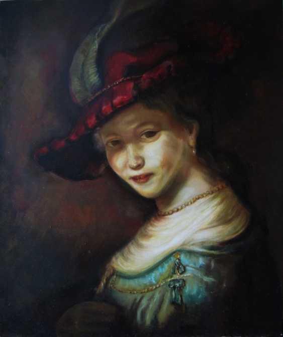 "Mariana Sobkiv. ""The Smiling Saskia"" - photo 1"