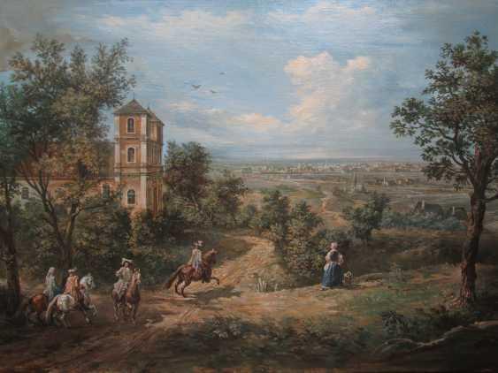 Ed Yakushin. city view Johannesdal (Red Village) from Kirkhope. 17th century. - photo 1