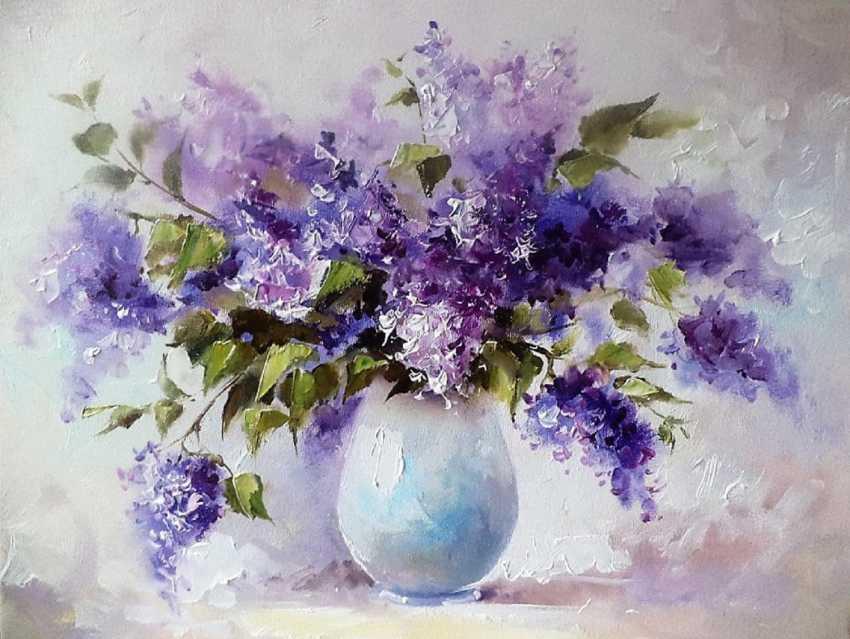 Elena Agafonova. Lilac - photo 1