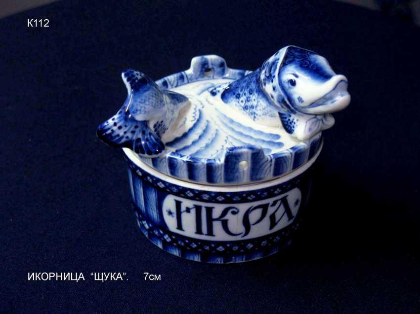 Sergey Karpukhin. Vase caviar pike - photo 1